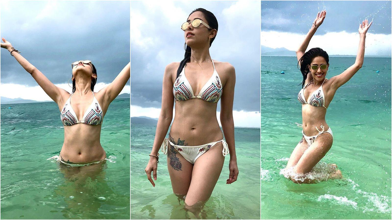 Nushrat Bharucha sets temperatures soaring as she posts latest bikini-clad pictures from Thailand
