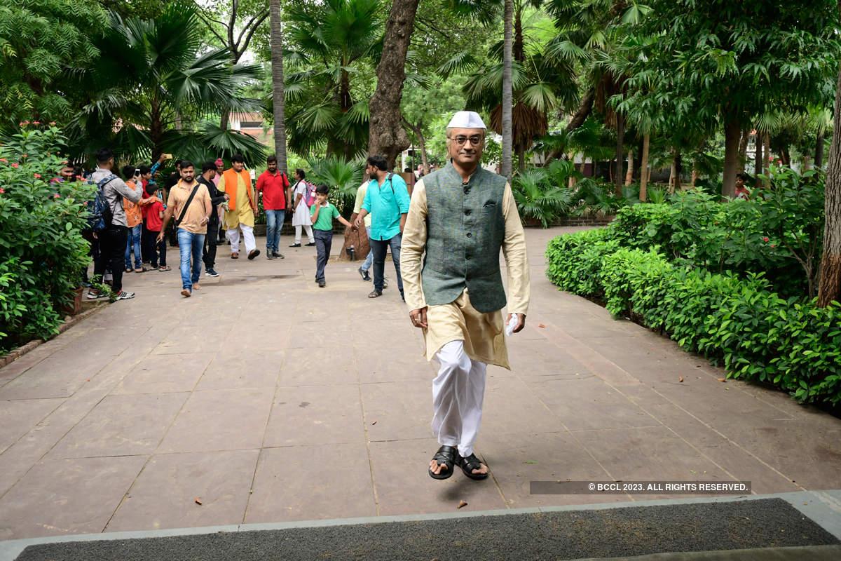 TMKOC team visits Sabarmati Ashram in Ahmedabad