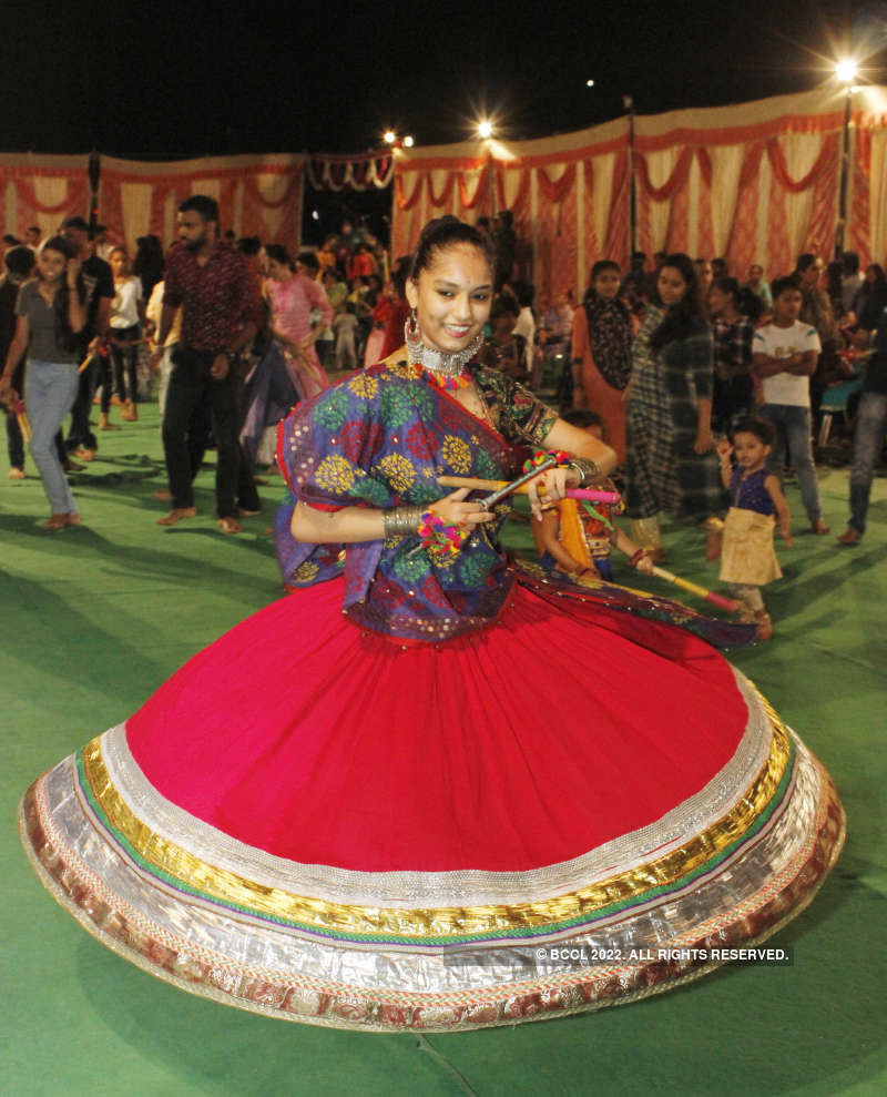 Ladies enjoy Gujarat-style Navaratra in Chandigarh