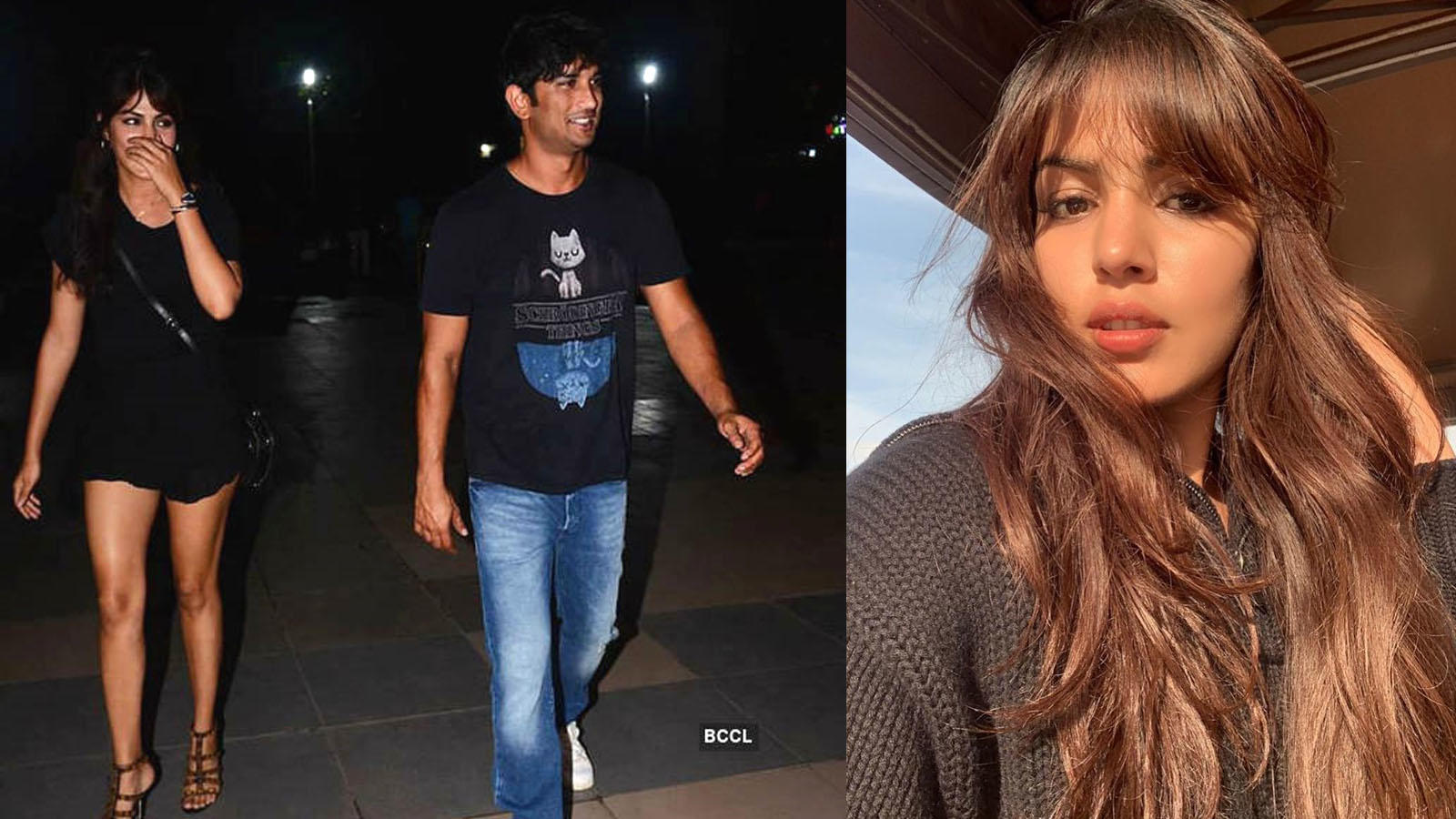 Sushant Singh Rajput leaves a poetic comment on rumoured lady love Rhea Chakraborty's latest sun-kissed selfie