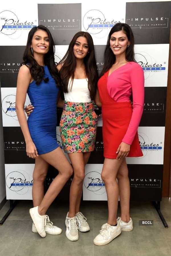 Beauty queens celebrate Pilates Girl Namrata Purohit's achievements