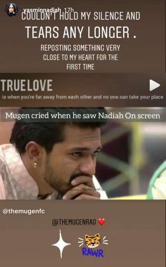 Yasmin Nadiah - Could not hold tears