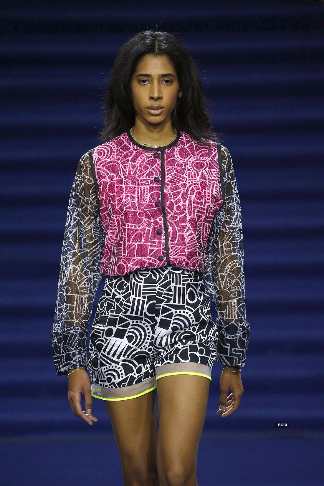 Designer Pariha Showcased her collection at Paris Fashion Week, see pictures