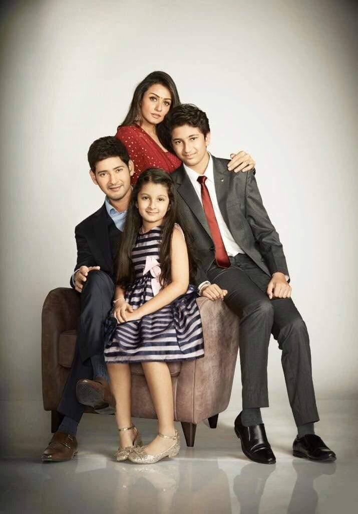 Family Time: Mahesh Babu, Namrata Shirodkar and kids look adorable ...