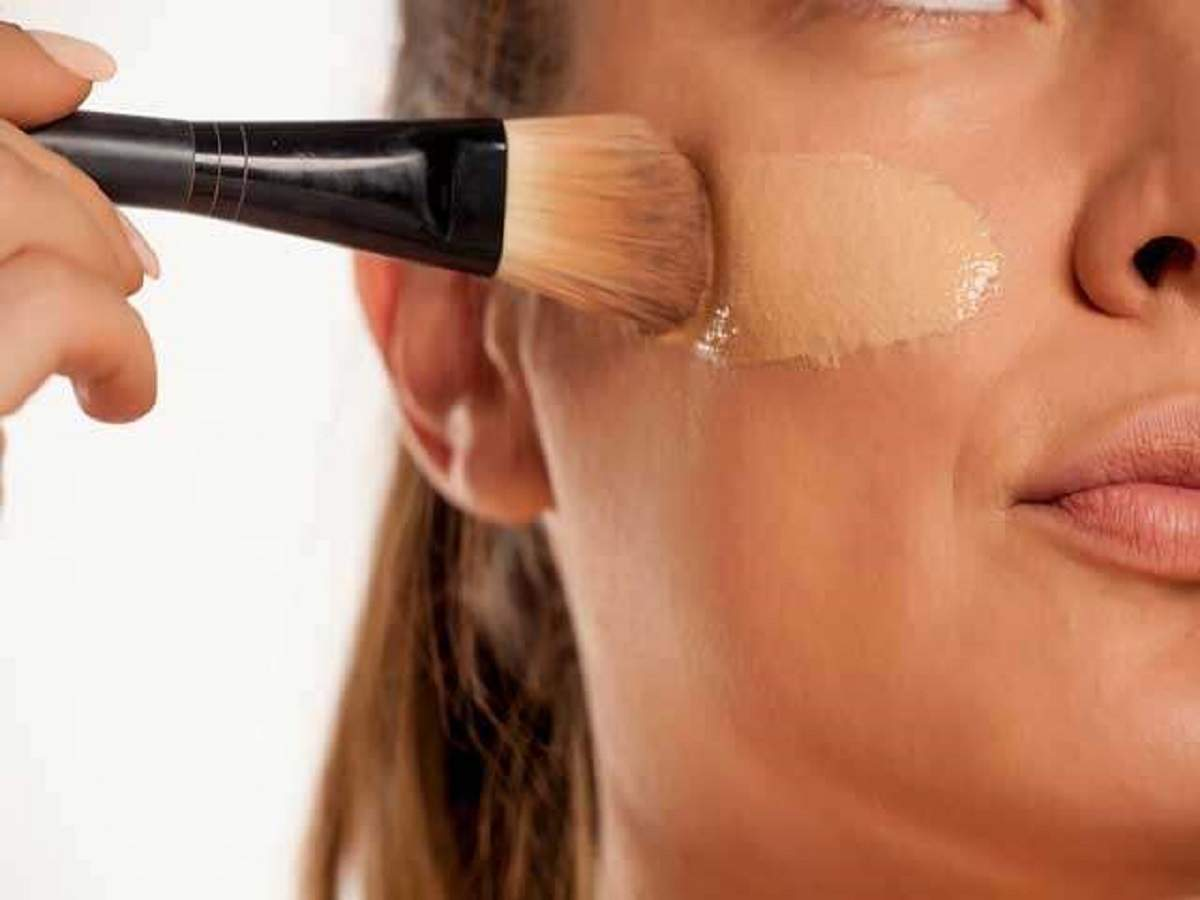 Foundation for women with dry skin
