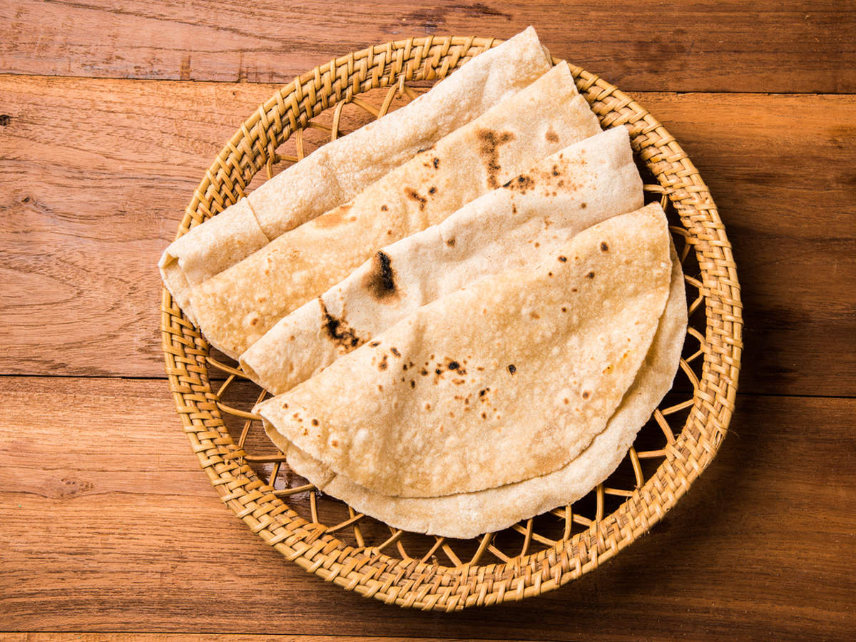 Difference between regular chapati and corn chapati!