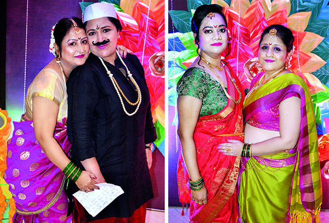 (L) Amanjeet and Neha Arora (R) Anshika and Nidhi (BCCL/ IB Singh)