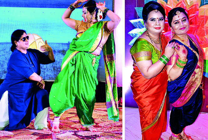 (L) Gunjan and Richa Saluja (R) Neha Dua and Ruchi Singh (BCCL/ IB Singh)
