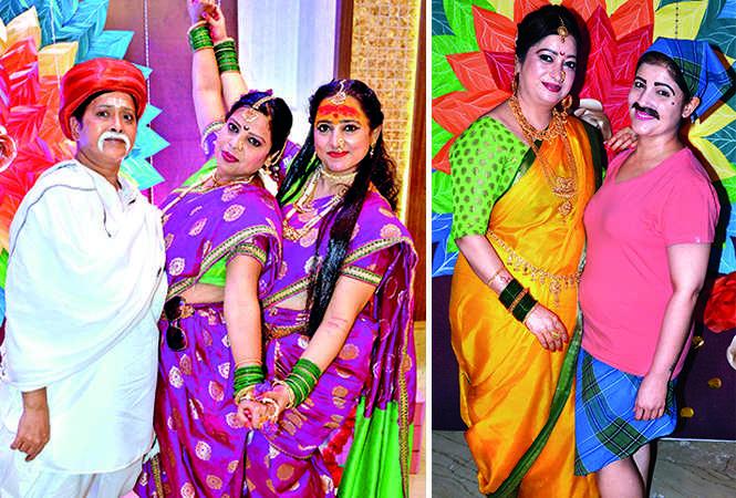 (L) Ruchu Arora, Ratna Kaushik and Rekha (R) Vaishali and Nidhi (BCCL/ IB Singh)
