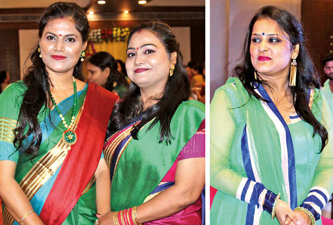 (L) Poonam and Simmy (R) Shalini (BCCL/ Arvind Kumar)