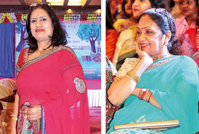 (L) Arshi (R) Arti Khanna (BCCL/ Arvind Kumar)