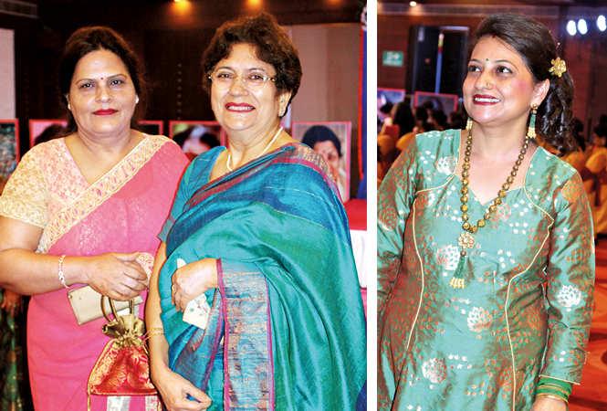 (L) Kamini Verma and Deepa Kapoor (R) Reetu Arora (BCCL/ Arvind Kumar)