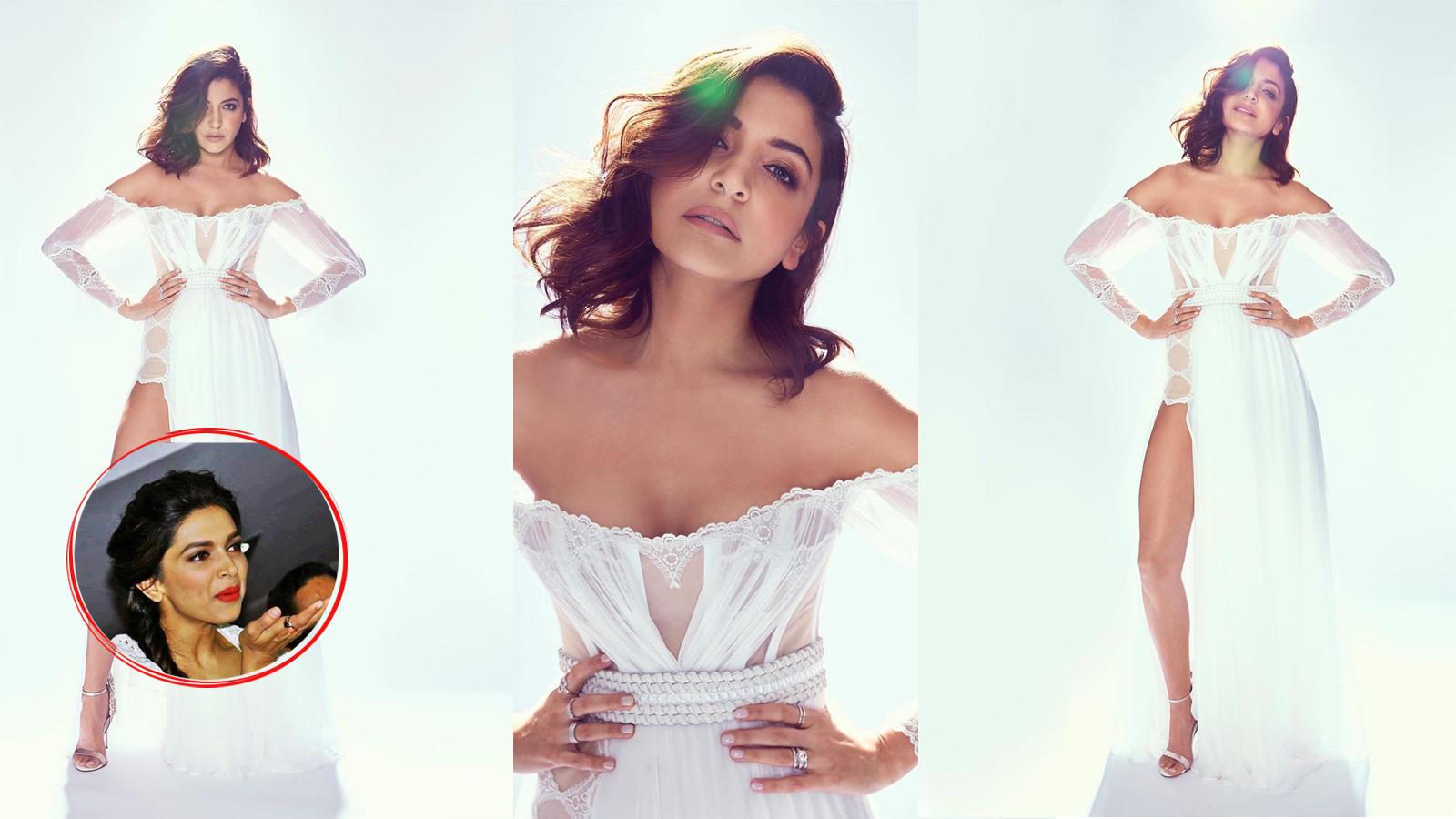 Deepika Padukone gushes over Anushka Sharma's all-white style statement