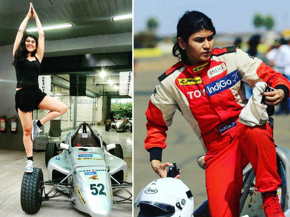 Indian racing driver Sneha Sharma's life will inspire you to chase your dreams