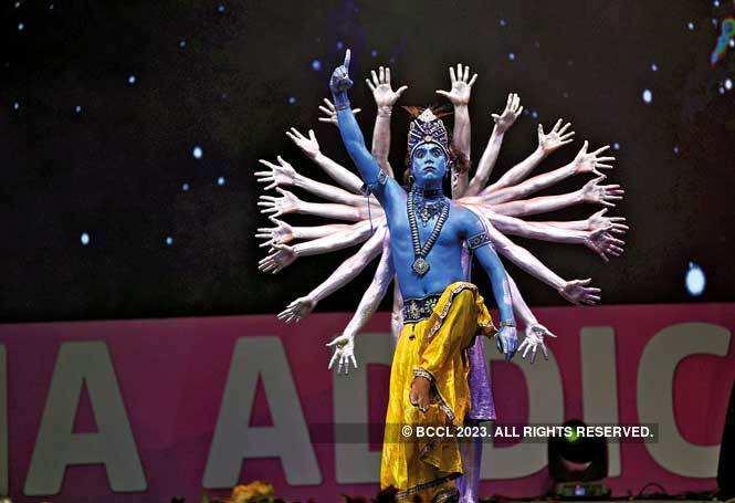 Prince Dance Group showcased the ten  incarnations of Vishnu