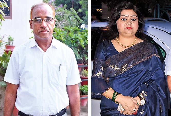 (L) Mahendra Modi (R) Seema Gupta (BCCL/ Vishnu Jaiswal)
