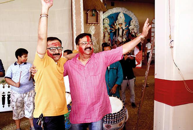Tapas Roy and Joyanto Sarkar (BCCL/ Vishnu Jaiswal)