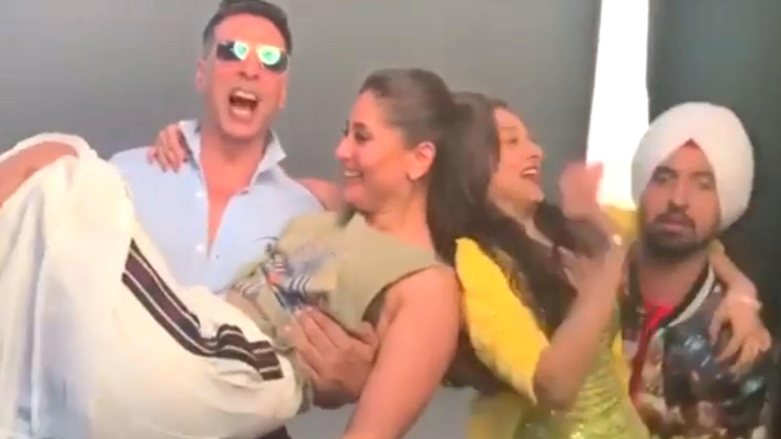 After Ayushmann Khurrana, now Kareena Kapoor, Kiara Advani, Diljit Dosanjh take up #TheBalaChallenge, video goes viral