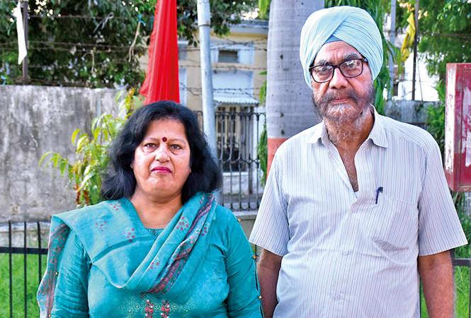 Disha Panjwani and Sujan Singh (BCCL/ Vishnu Jaiswal)