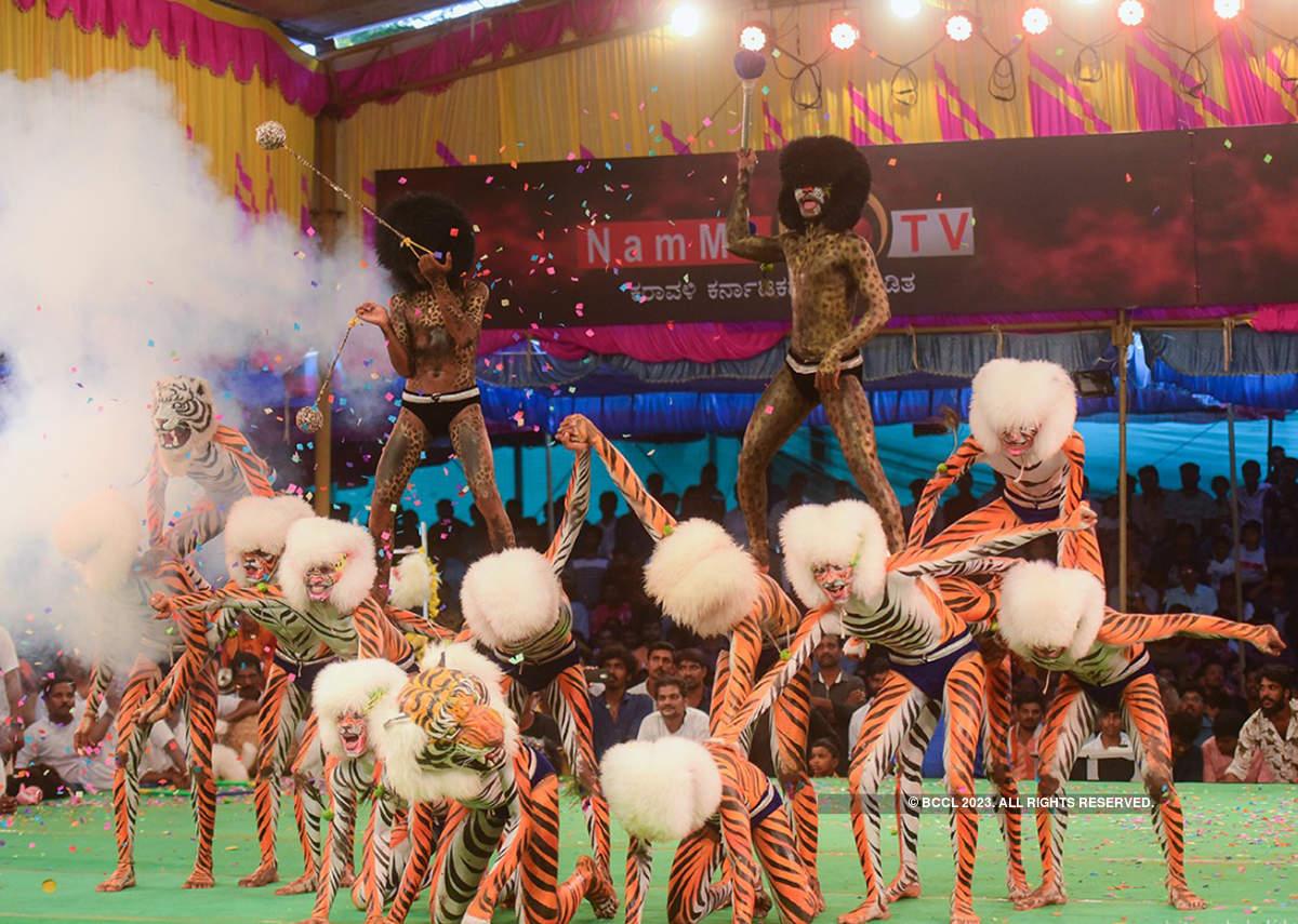 Pili Nalika keeps Tulunaadu's Dasara tradition alive