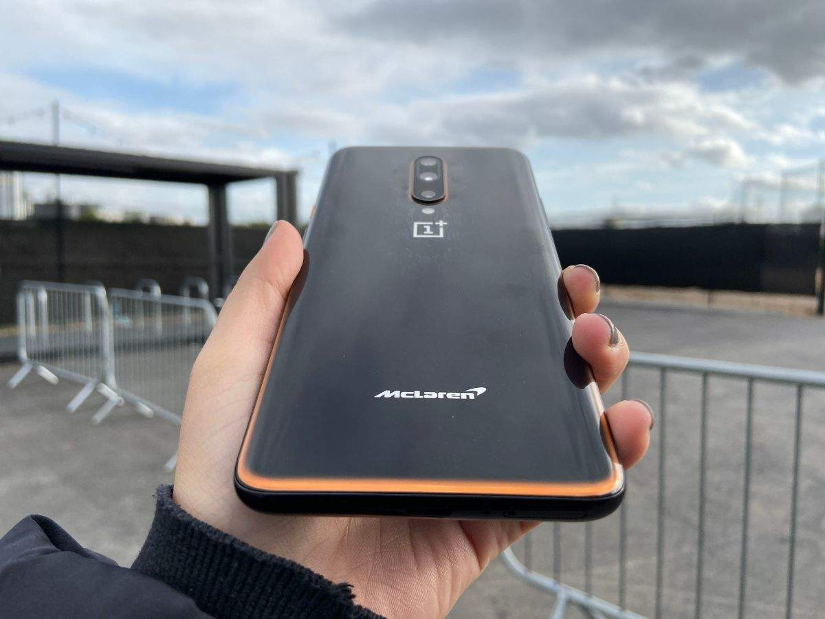 ​OnePlus 7T McLaren boasts of 'racing track-like design' at the back