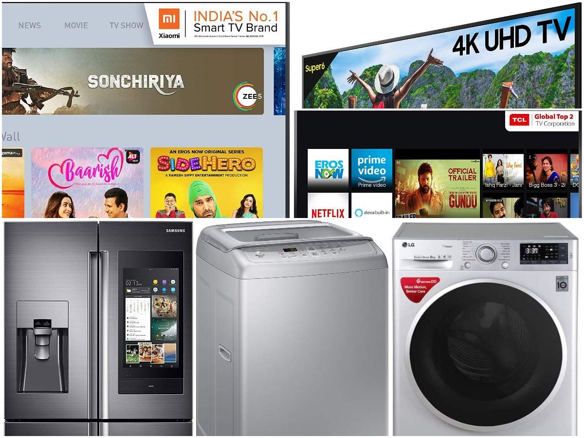 Amazon sale: TVs, ACs, washing machines at maximum discounts