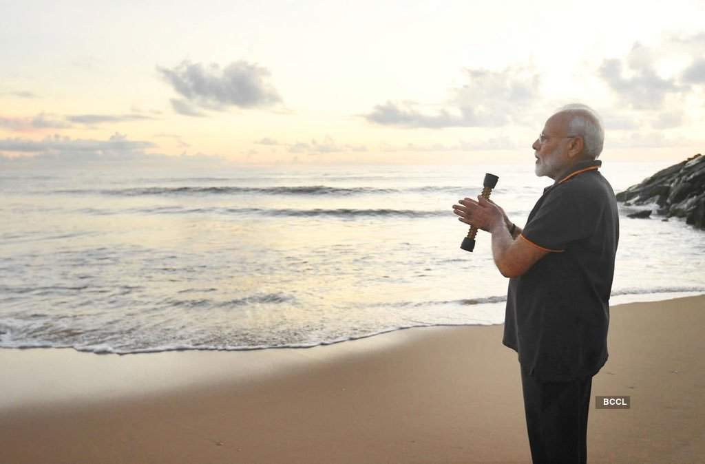 In pics: PM Narendra Modi seen with acupressure roller while plogging