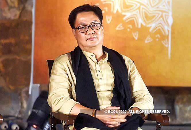 Kiren Rijiju, Minister of State (I/C), Youth Affairs and Sports