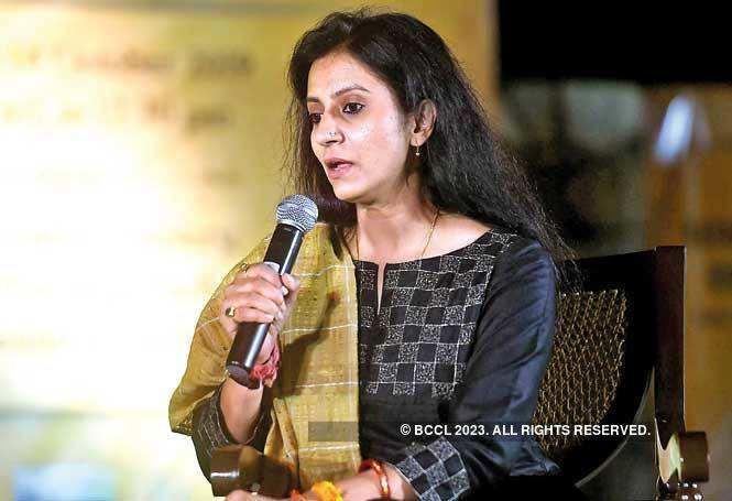 Prarthana Gehlot, co- director of the 12th Kathakar International Storytelling Festival
