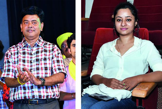 (L) Jitendra Kumar (R) Manisha Mehra (BCCL/ Farhan Ahmad Siddiqui)