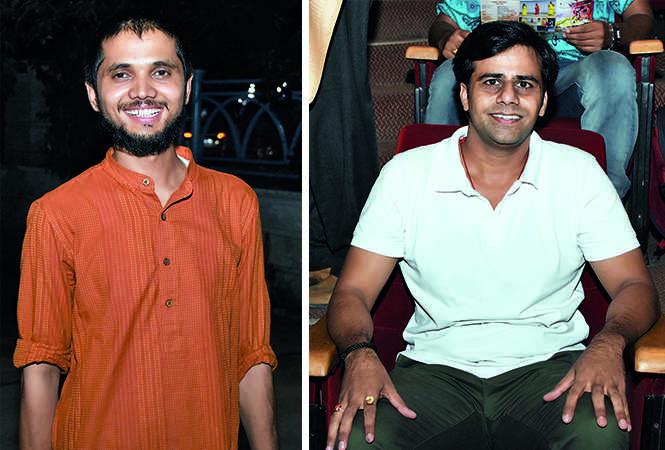 (L) Privendra Singh (R) Raj Vardhan (BCCL/ Farhan Ahmad Siddiqui)