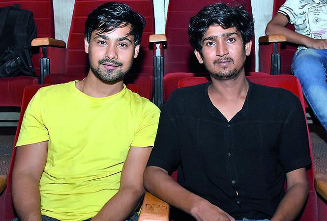 Shashank Awasthi and Omkar Saini (BCCL/ Farhan Ahmad Siddiqui)