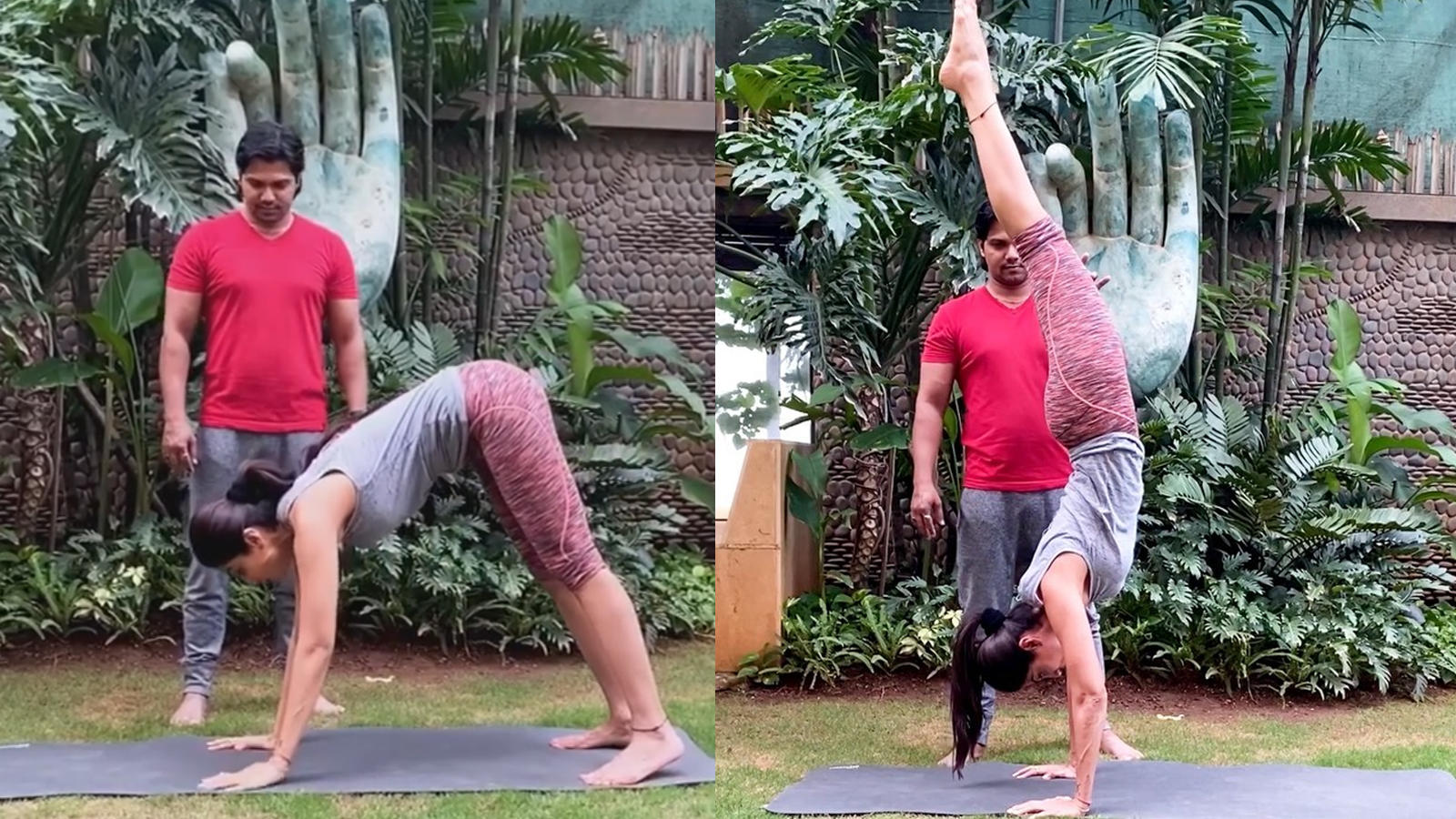 Shilpa Shetty's latest yoga video is all about fitness goals