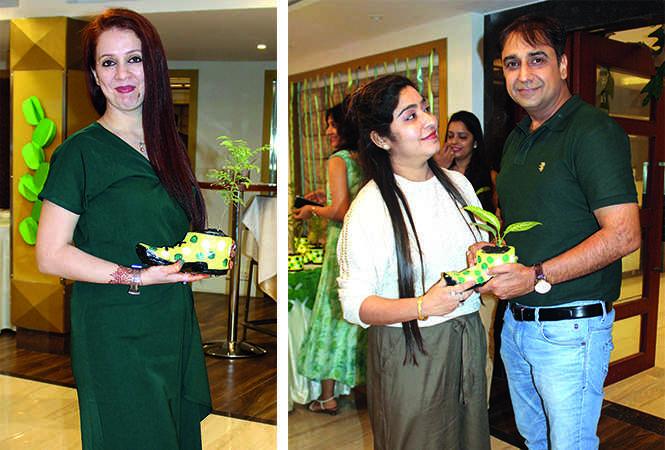 (L) Riya (R) Sanjana and Yogesh (BCCL/ Arvind Kumar)