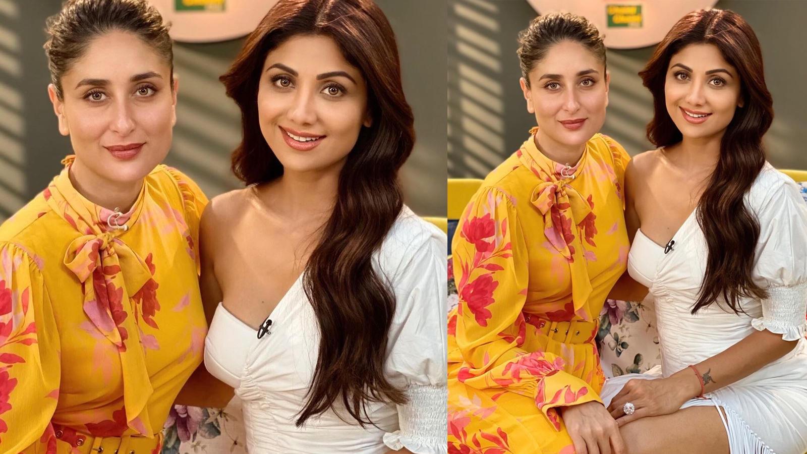 Shilpa Shetty shares stunning pic with Kareena Kapoor, says girls are made of 'sarcasm, sunshine and a killer jawline'