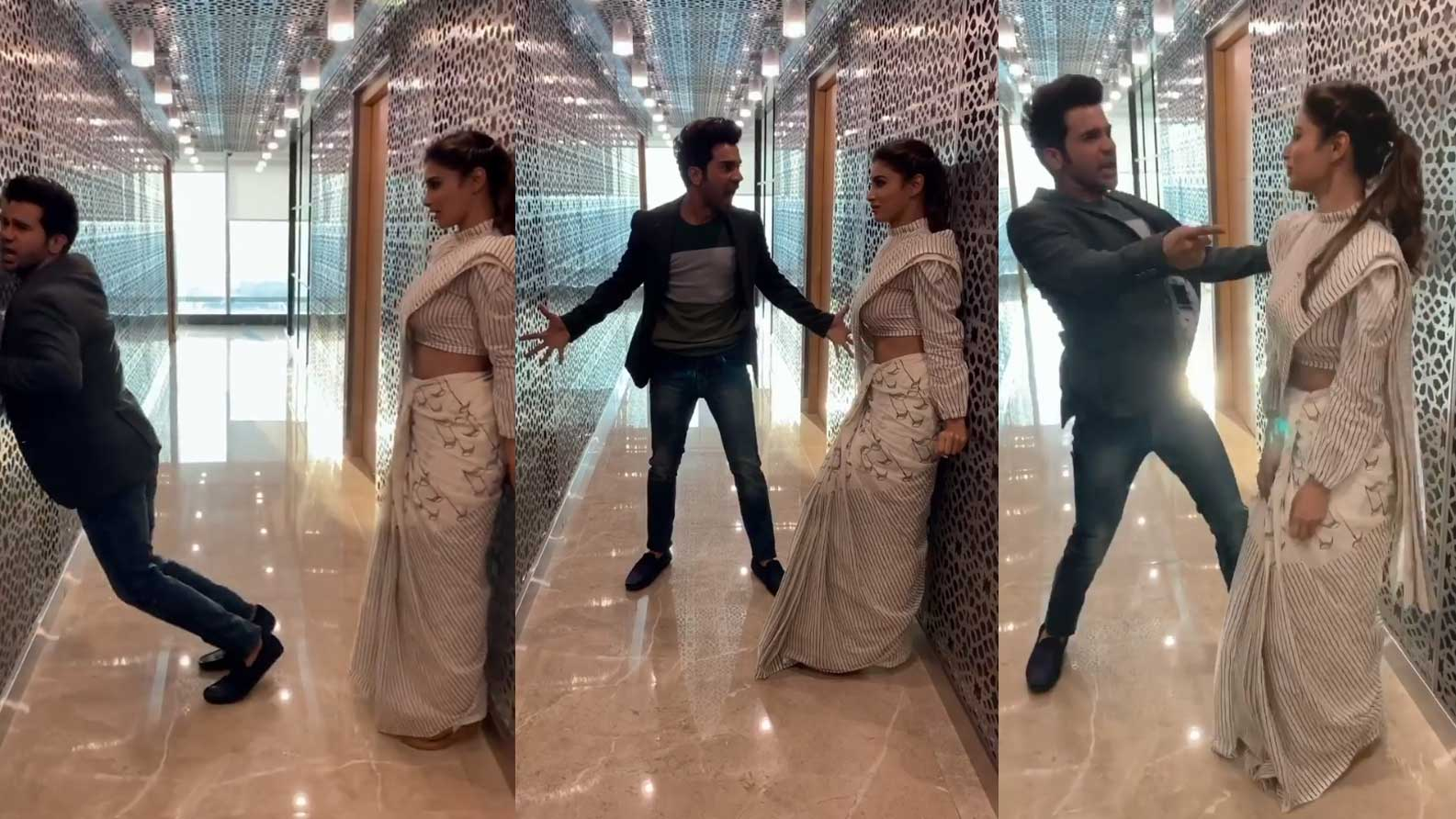Rajkummar Rao's viral dance video with Mouni Roy is beyond hilarious, fan calls him 'new King of Bollywood' after Shah Rukh Khan