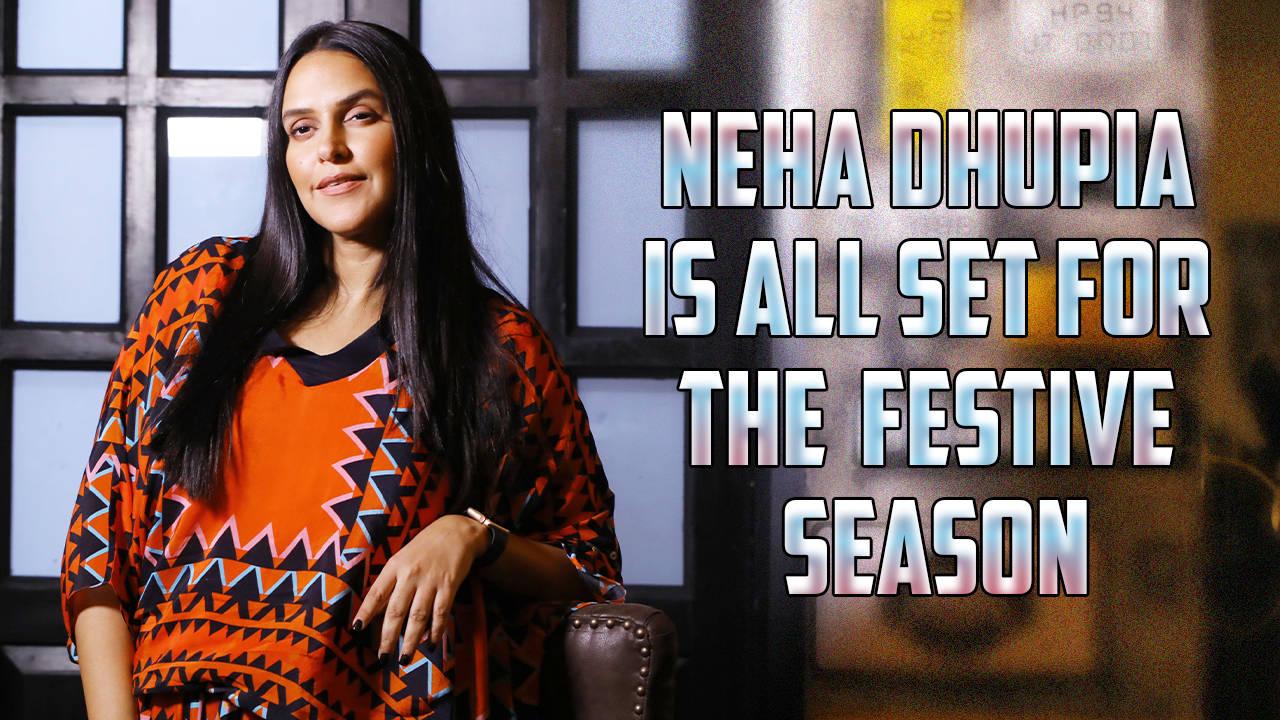 Neha Dhupia is all set for the festive season