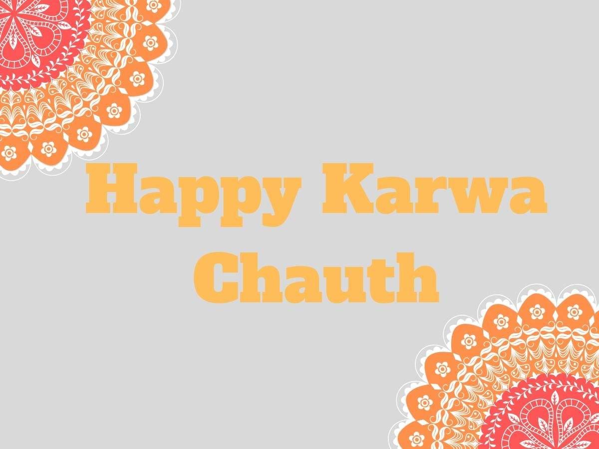 Happy Karwa Chauth 2019