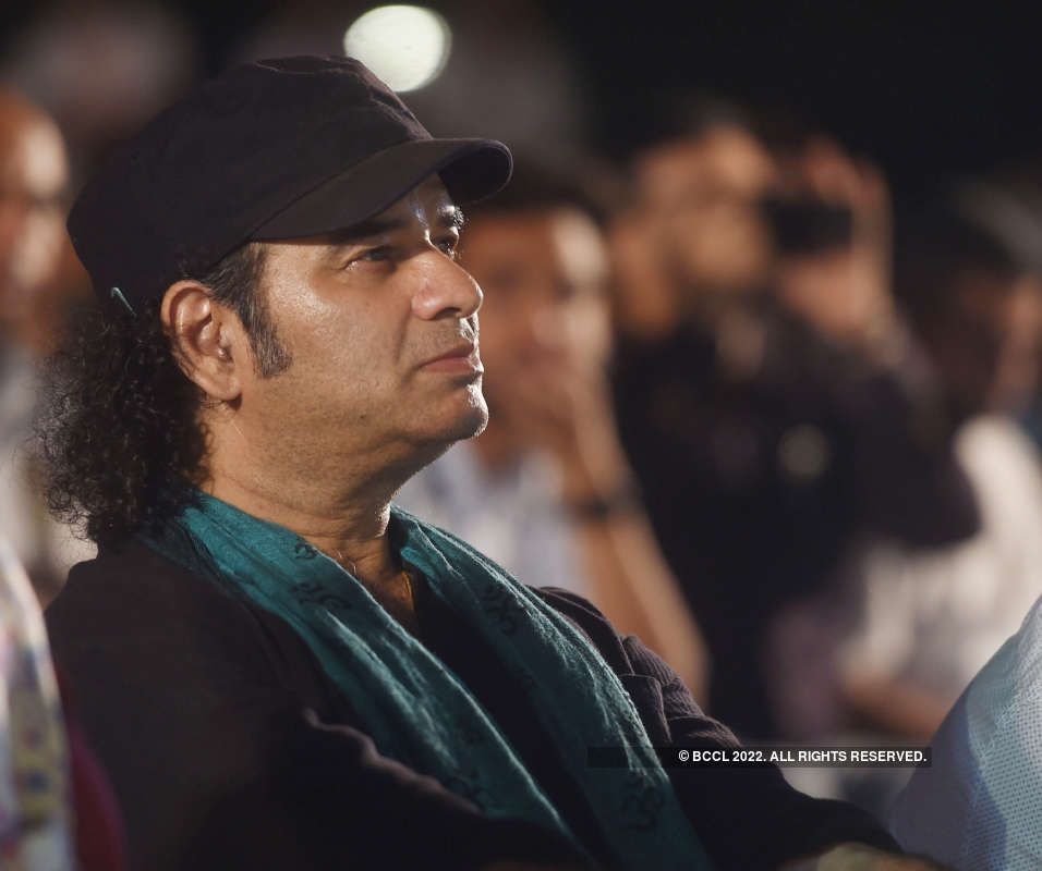 Manoj Bajpayee attends the 12th Kathakar International Storytelling Festival