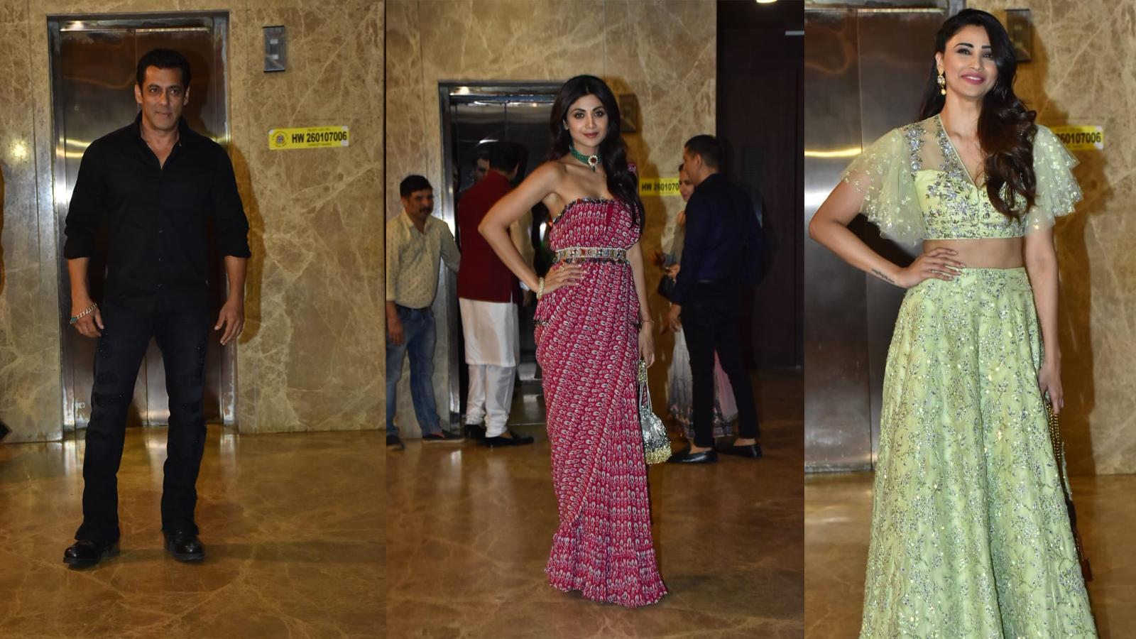 Salman Khan, Daisy Shah, Shilpa Shetty and other Bollywood celebrities attend producer Ramesh Taurani's pre-Diwali bash