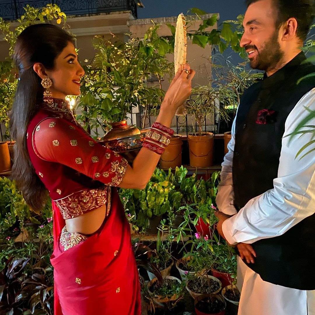 Shilpa thanks husband Raj Kundra