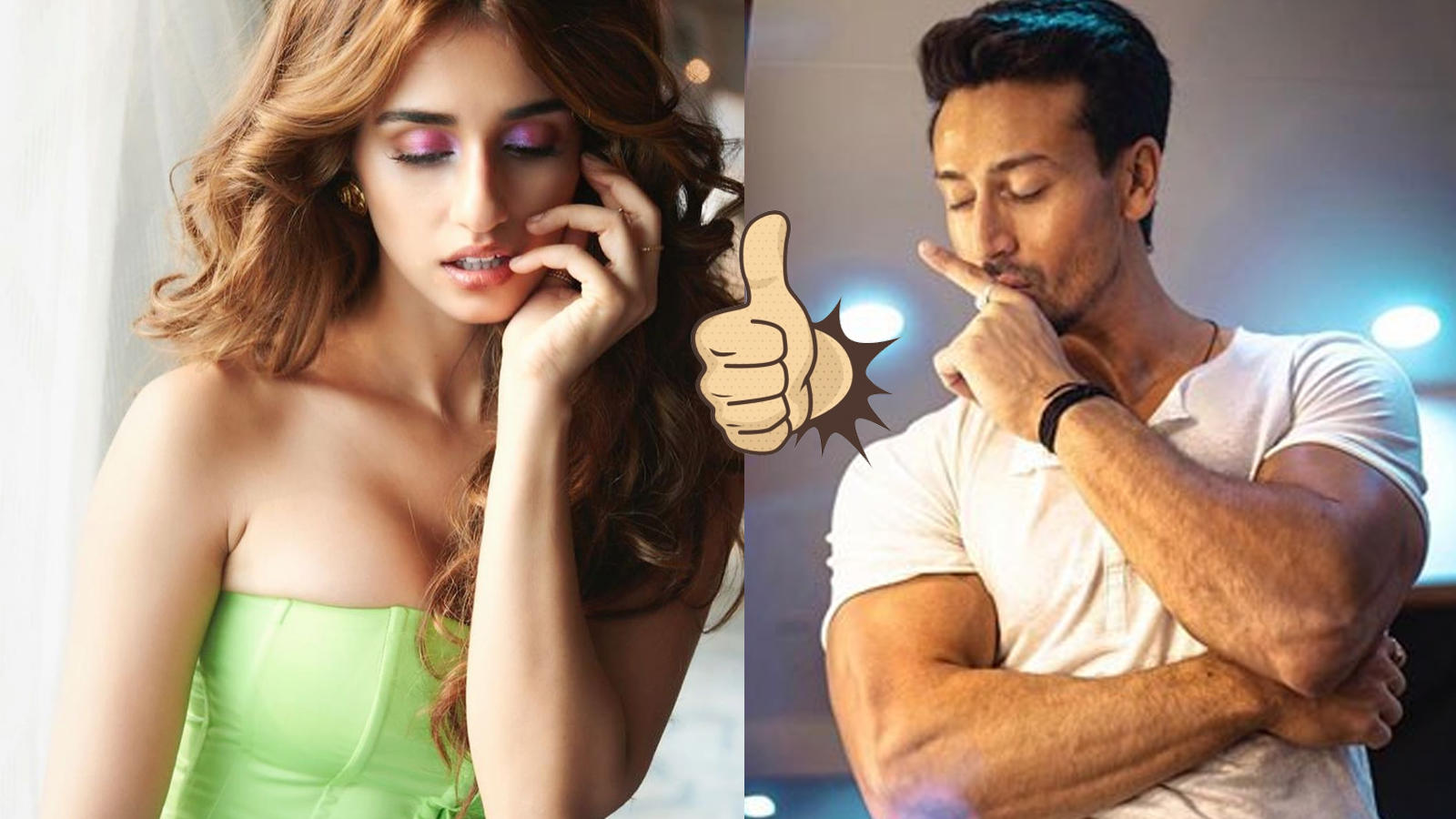 Tiger Shroff gives an Insta-heart to Disha Patani's latest pictures in neon green corset