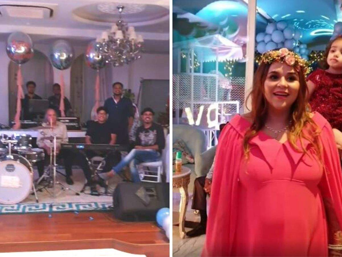 Kapil Sharma And Ginni Chathrath Had This Amazing Baby Shower Theme Party Idea Times Of India