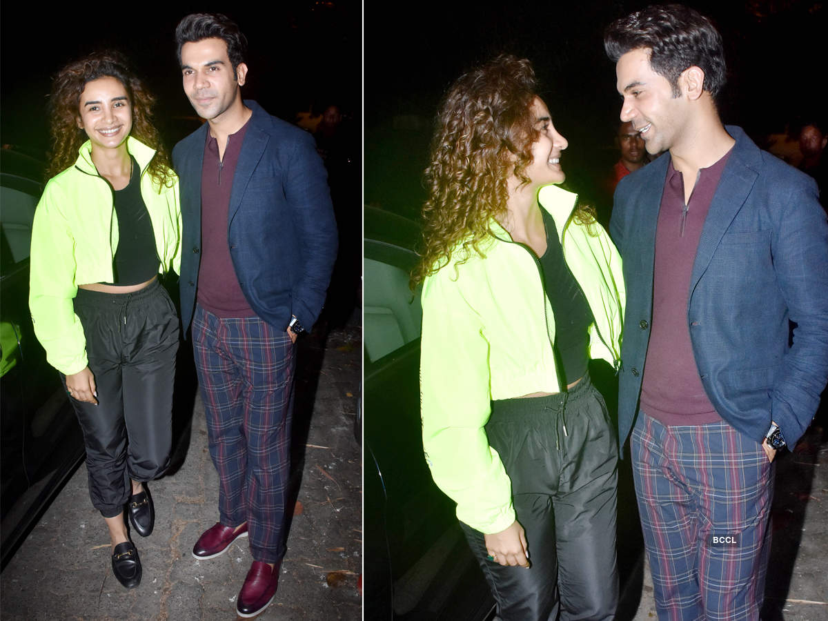 Cute pictures of the cutest couple of Bollywood, Patralekhaa & Rajkummar Rao
