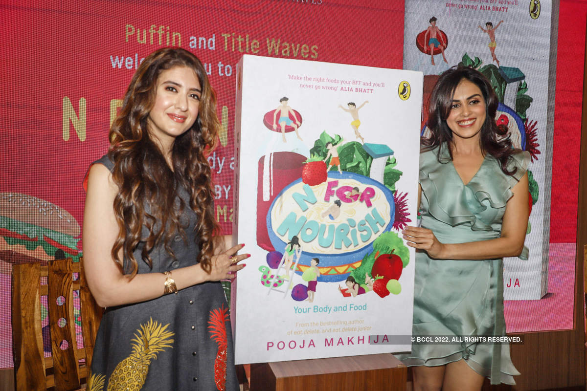 Genelia D'Souza graces the launch of a book