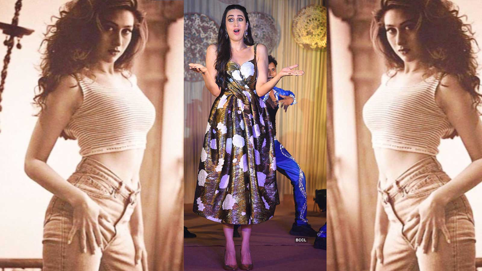 Karisma Kapoor's love for fashion is evident in this throwback picture from 90's