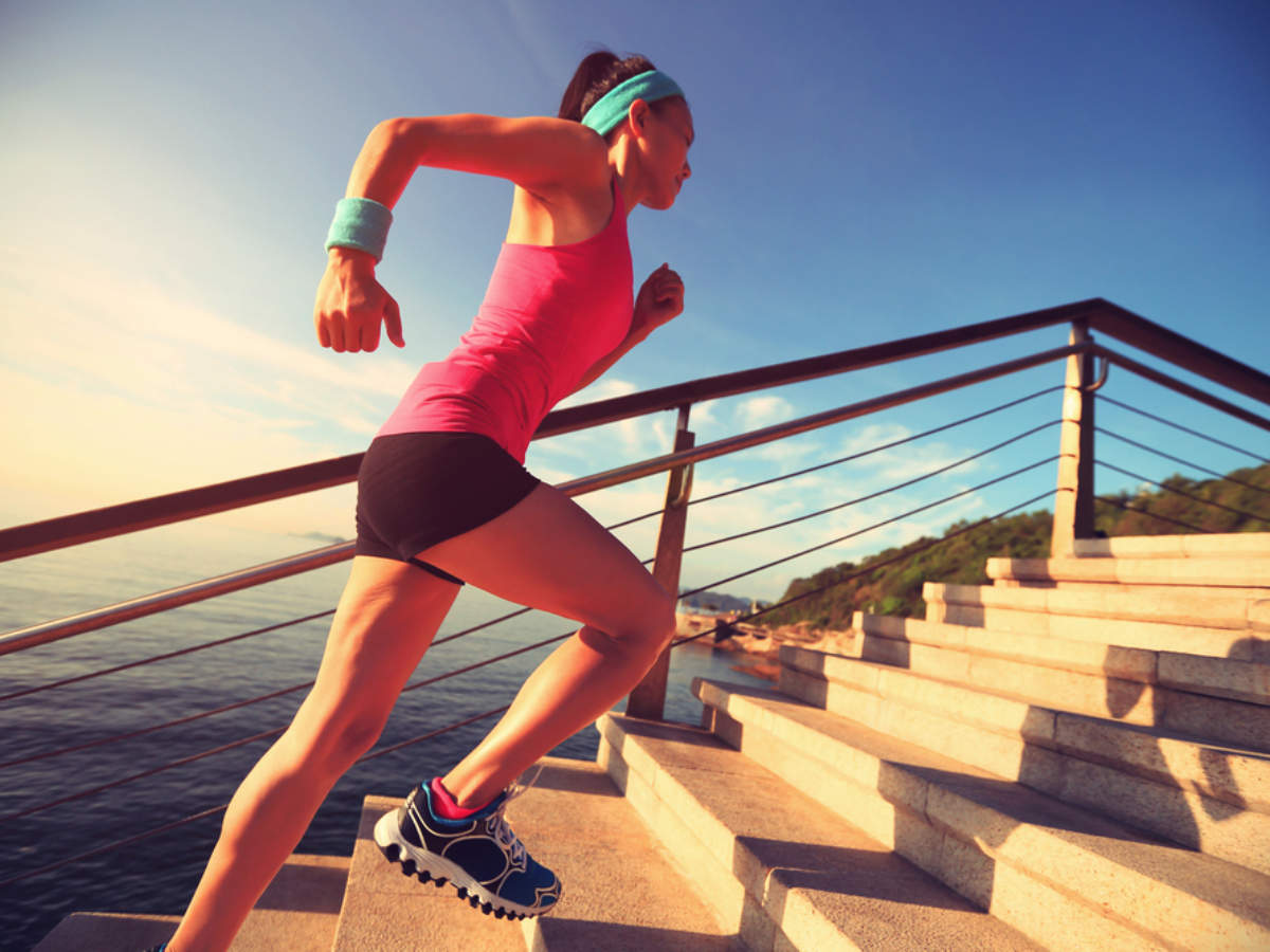 Stairs Climbing Exercises: 4 Health Benefits of Stair Climbing Exercises (Workout)