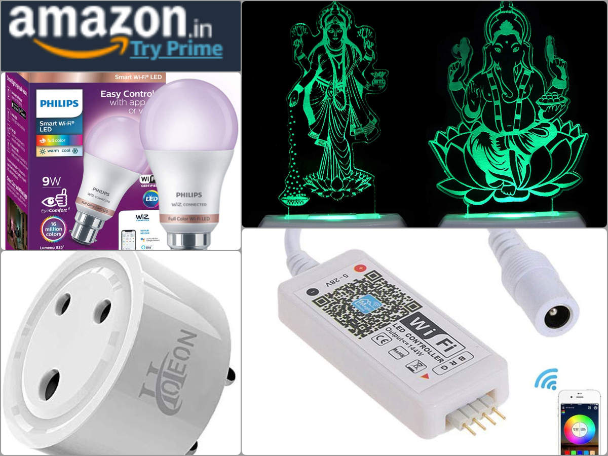 Amazon Great Indian Festival sale: Cool gadgets, lights for Diwali under Rs 999