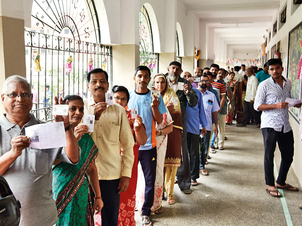 At 60% turnout, state fares worse than in 2014 polls