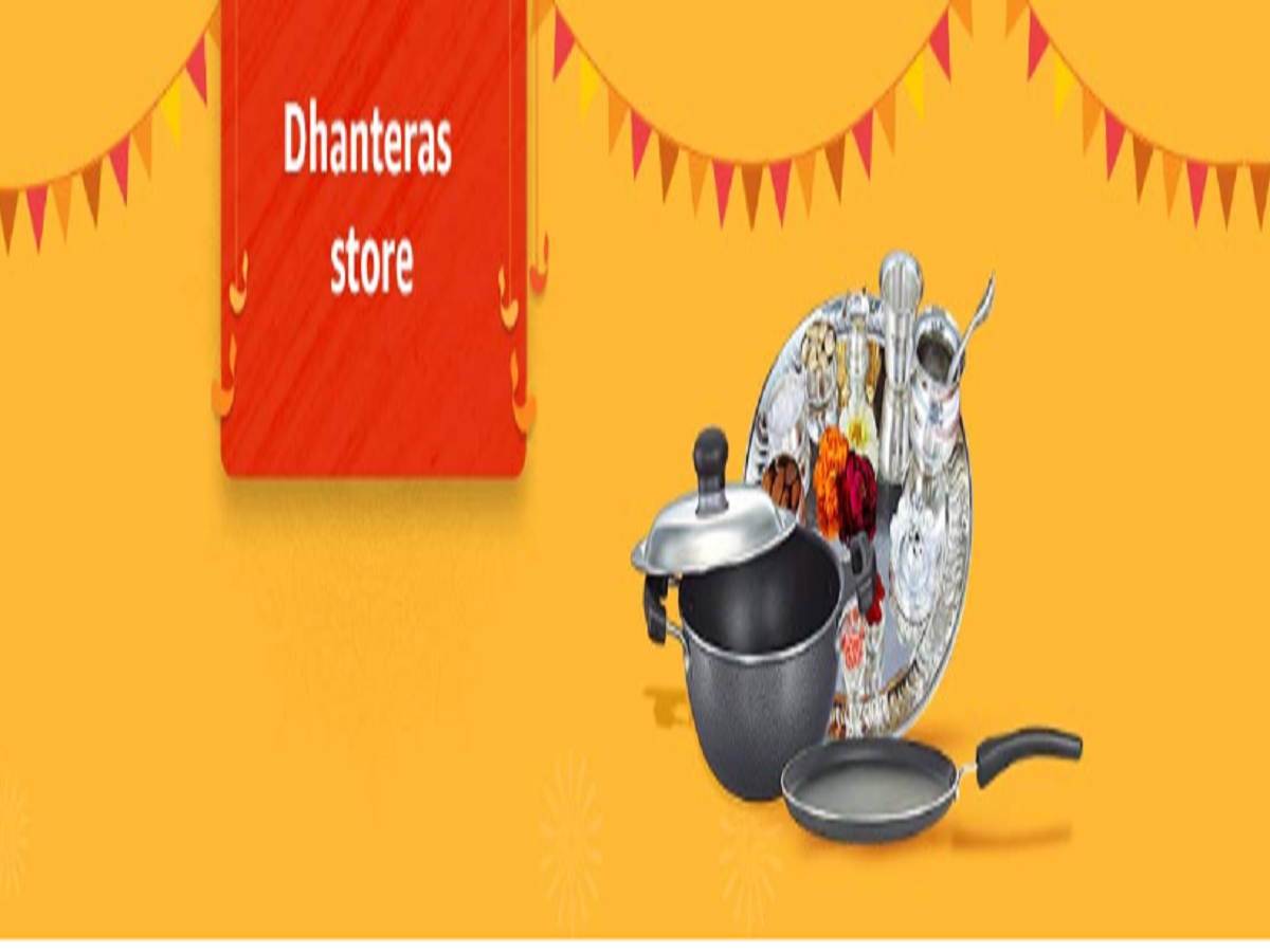Amazon Dhanteras Sale: Up to 50% off on stainless steel, cutlery & more